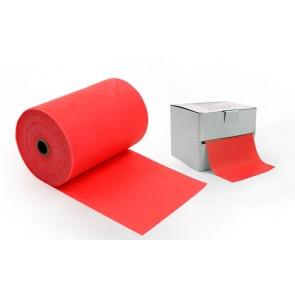 Лента эластичная для фитнеса и йоги в рулоне (р-р 25м x 15см x 0,3мм) FI-4987-25 (силикон, цвета в ассортименте)