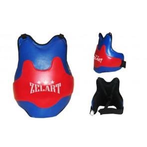 Защита груди (жилет) одностор. PU ZEL ZB-8025