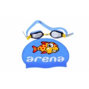 Набор для плавания детский: очки, шапочка Arena MULTI CMBI-ST 2 WD