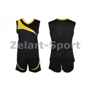 Форма баскетбольная женская без номера B103-BK
