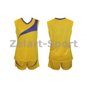 Форма баскетбольная женская без номера B103-Y