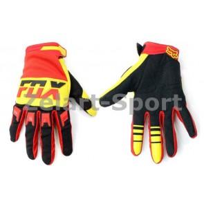 Кроссовые перчатки текстильные FOX BC-4827-1