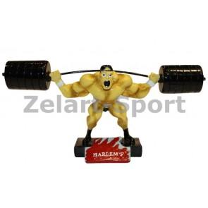 Статуэтка (фигурка) наградная спортивная Тяжелоатлет C-2248-A8