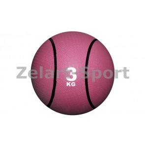 Мяч медицинский (медбол) C-2660-3 3 кг