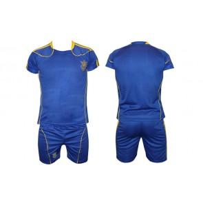 Детская футбольная форма CO-1006-UKR-12B УКРАИНА