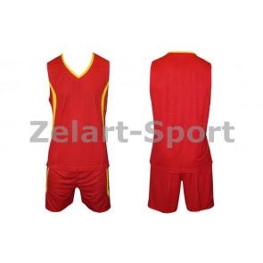 Форма баскетбольная мужская без номера CO-3864-R