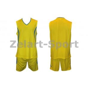 Форма баскетбольная мужская без номера CO-3864-Y