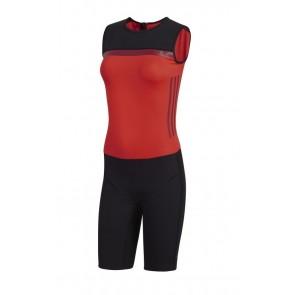 Трико для тяжелой атлетики женское Crazypowersuit W Adidas CW5658 (красное)