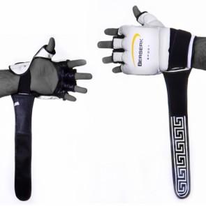 Перчатки для смешаных единоборств 4 oz LEGACY black/blu/white