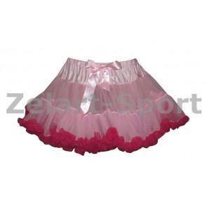 Юбка Американка малиново-розовая DN-9024-MR (PL, шифон)