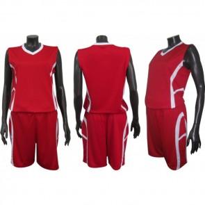 Форма баскетбольная женская без номера CO-1101-R