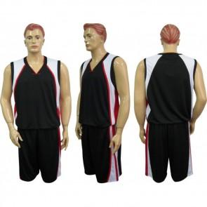 Форма баскетбольная мужская без номера CO-1509-BK