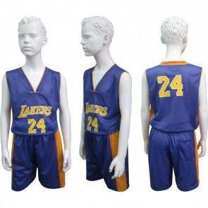 Форма баскетбольная юниорская NBA CO-0038-4 LAKERS 24