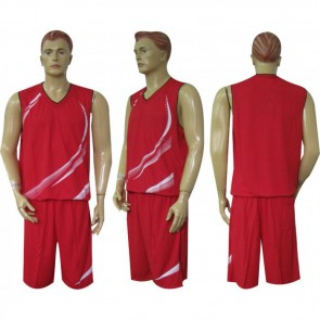 Форма баскетбольная мужская без номера CO-3868-R