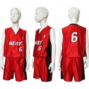 Форма баскетбольная юниорская NBA CO-0038-12 HEAT