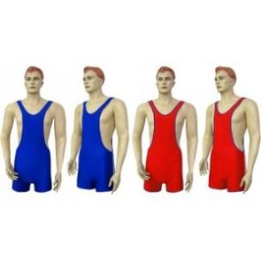 Трико для борьбы и тяжелой атлетики двустороннее подростковое CO-3043