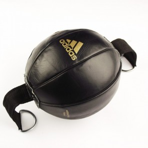 Груша -Кожаная двухконечная боксерская