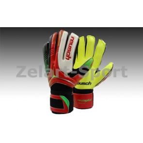 Перчатки вратарские с защитными вставками на пальцы FB-869-2 REUSCH