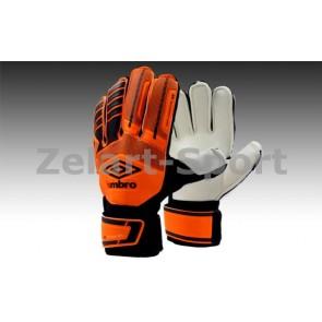 Перчатки вратарские с защитными вставками на пальцы FB-879-2 UMB