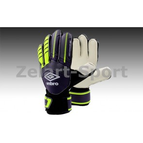Перчатки вратарские с защитными вставками на пальцы FB-879-3 UMB