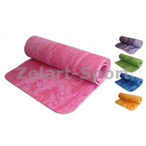 Коврик для фитнеса камуфляж PER 8мм FI-4936 Yoga mat