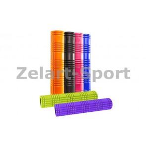 Роллер массажный (Grid Roller) для йоги, пилатеса, фитн. FI-4941