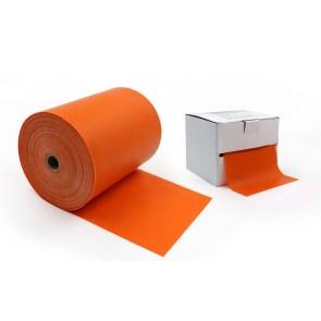 Лента эластичная для фитнеса и йоги в рулоне (р-р 25м x 15см x 0,4мм) FI-4988-25 (силикон, цвета в ассортименте)