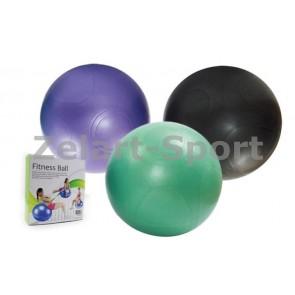 Мяч для фитнеса (фитбол) PS гладкий 65 см GB-300(65)