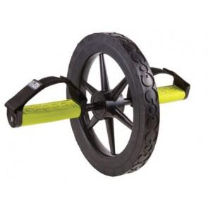 Ролик для пресса с фиксаторами для рук/ног GoFit Extreme Ab Wheel