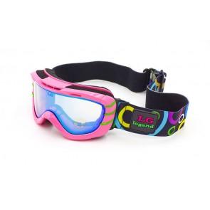 Очки горнолыжные   детские Legend LG7051