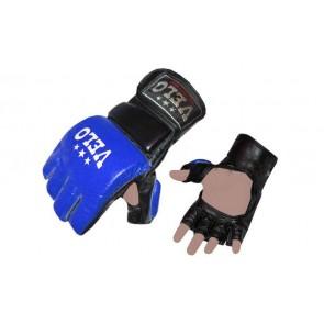 Перчатки для смешанных единоборств MMA Кожа VELO ULI-4033