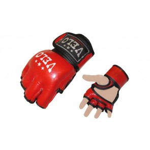Перчатки для смешанных единоборств MMA Кожа VELO ULI-4035