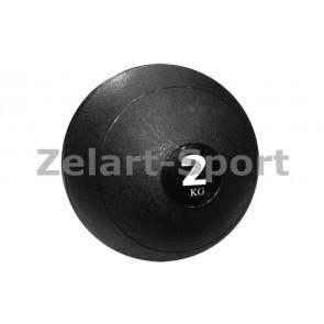 Мяч медицинский (слэмбол) SLAM BALL SBL001-2 2кг