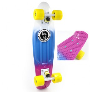 Скейт Penny Board Fish Color Point SK-407-3