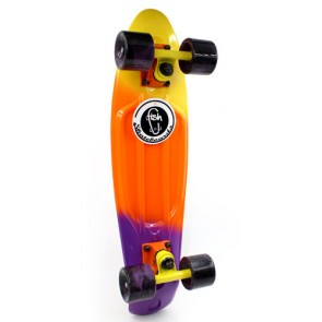 Скейт Penny Board Color Fish Swirl SK-408-2