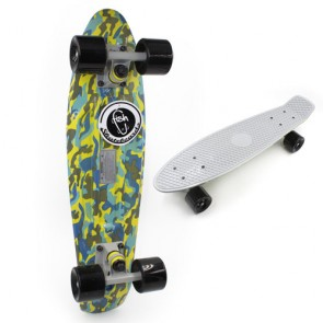 Скейт Penny Board CAMO YELLOW FISH SK-4445-1