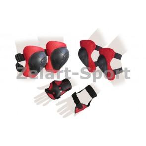 Защита спорт. наколенники, налокот., перчатки детские SK-4504