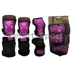 Защита спортивная наколенники, налокот., перчатки ZEL SK-3503V
