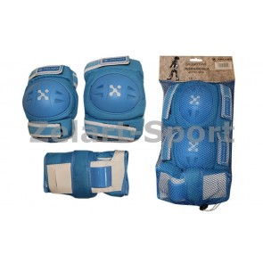 Защита спортивная наколенники, налокот., перчатки ZEL SK-3504B