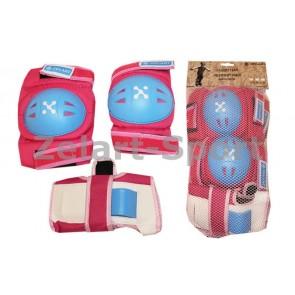 Защита спортивная наколенники, налокот., перчатки ZEL SK-3504P