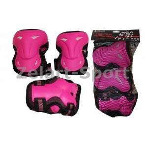 Защита спортивная наколенники, налокот., перчатки ZEL SK-3505P