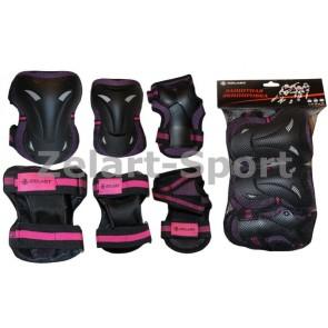 Защита спортивная наколенники, налокот., перчатки ZEL SK-3505V