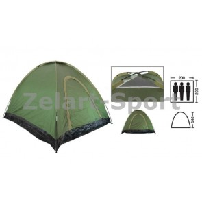 Палатка самораскладывающаяся 3-х местная SY-A-35-O