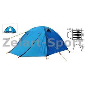Палатка 3-х местная  с тентом и коридором SY-A15