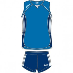 Волейбольная форма ASICS Sleeveless Bagher+Short Lady T461Z1-0050/T205Z1-0050