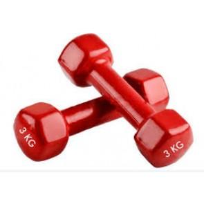 Гантели для фитнеса винил Радуга (2*3кг) TA-0001-3кг