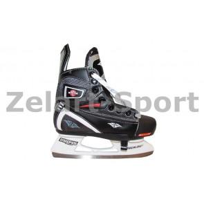 Коньки раздвижные детские хоккейные PVC TG-KH091R