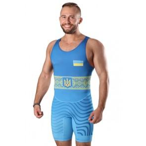 Трико для борьбы BERSERK WRESTLER APPROVED UWW blue