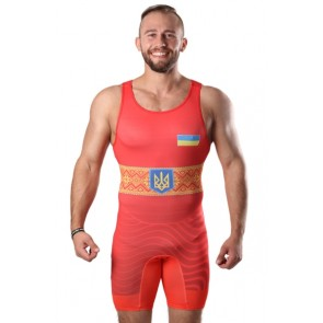 Трико для борьбы BERSERK WRESTLER APPROVED UWW red