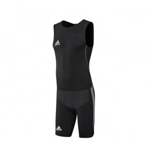 Трико тяжелоатлетическое Adidas Weightlifting Men WL CL черное
